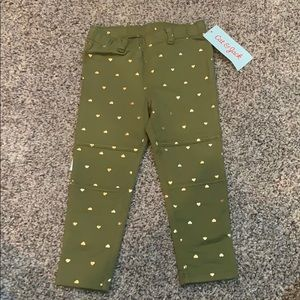 Cat and Jack Toddler girls leggings